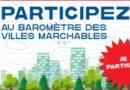 Le premier baromètre des villes marchables est lancé !