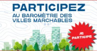 BAROMETRE DES VILLES MARCHABLES : plus que quelques jours !